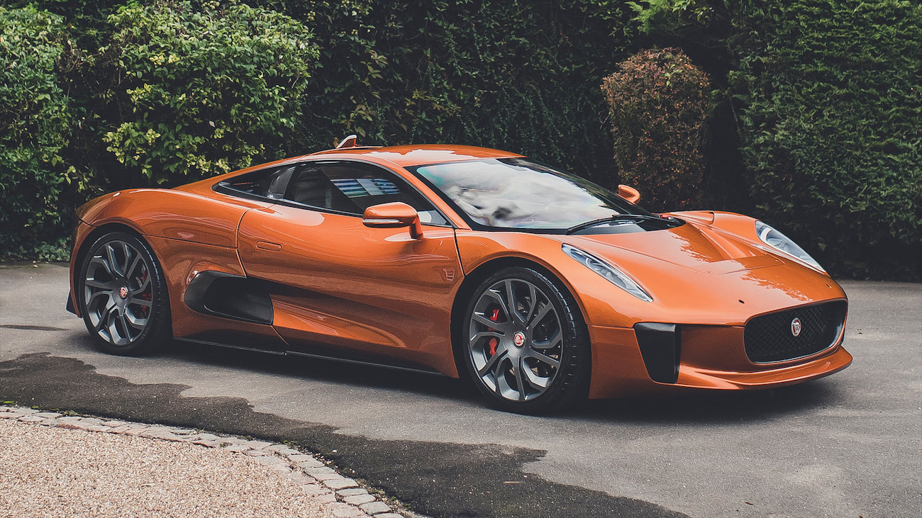 2015 jaguar cx75 spectre stunt car
