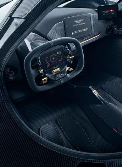 aston martin valkyrie driver seat