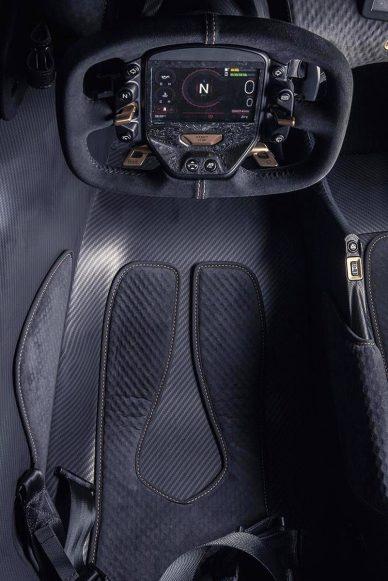 aston martin valkyrie seat design