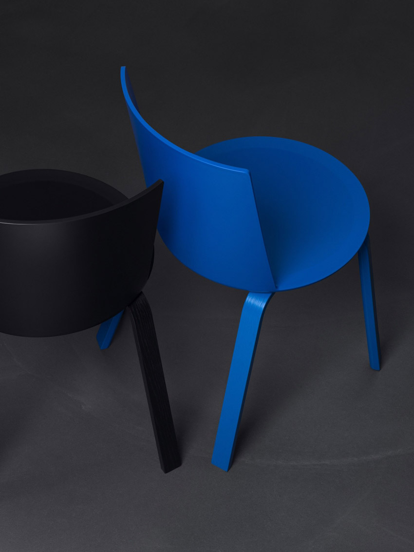 Acme chair by Geckeler Michels