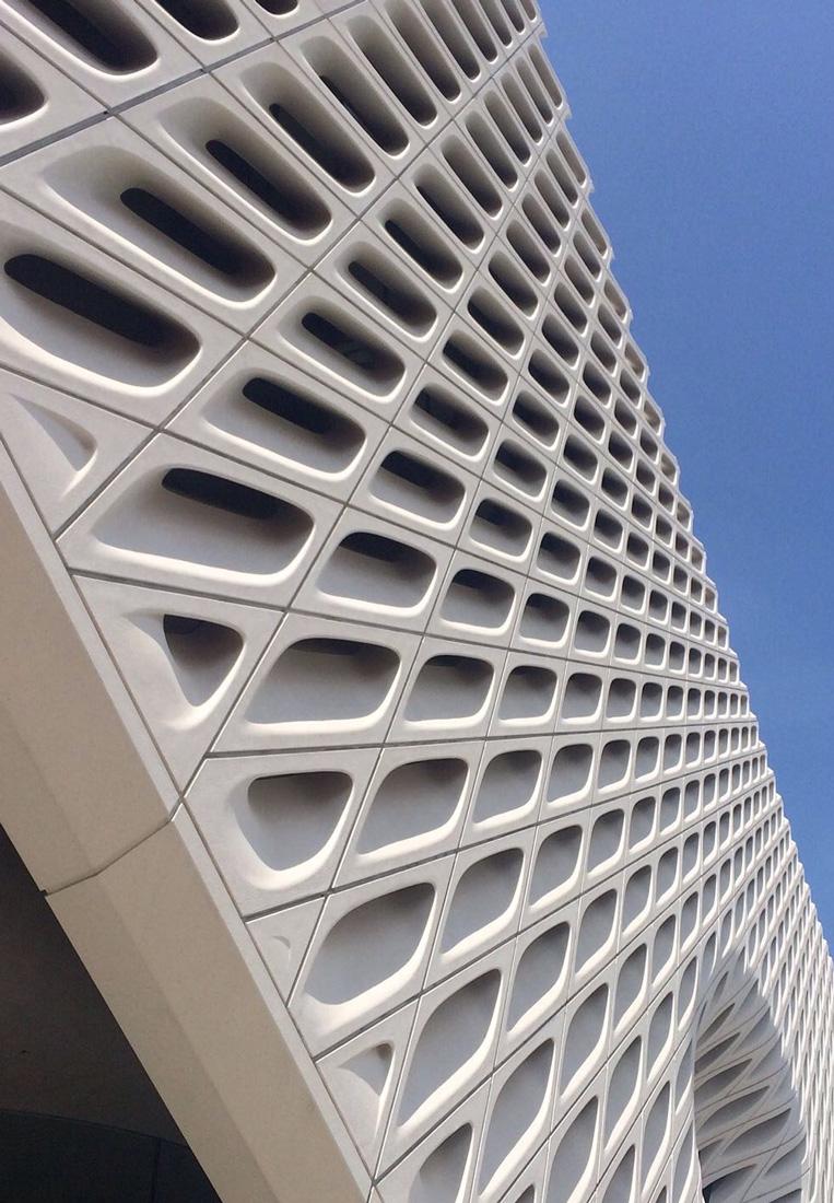 White Concrete Stairs