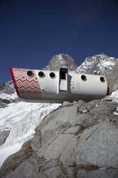 Alpine refuge LEAP by Leap Factory