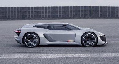 Audi PB 18 e-tron concept car