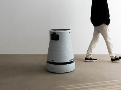 BEBOP Design Disinfection Robot leManoosh Industrial design Blog