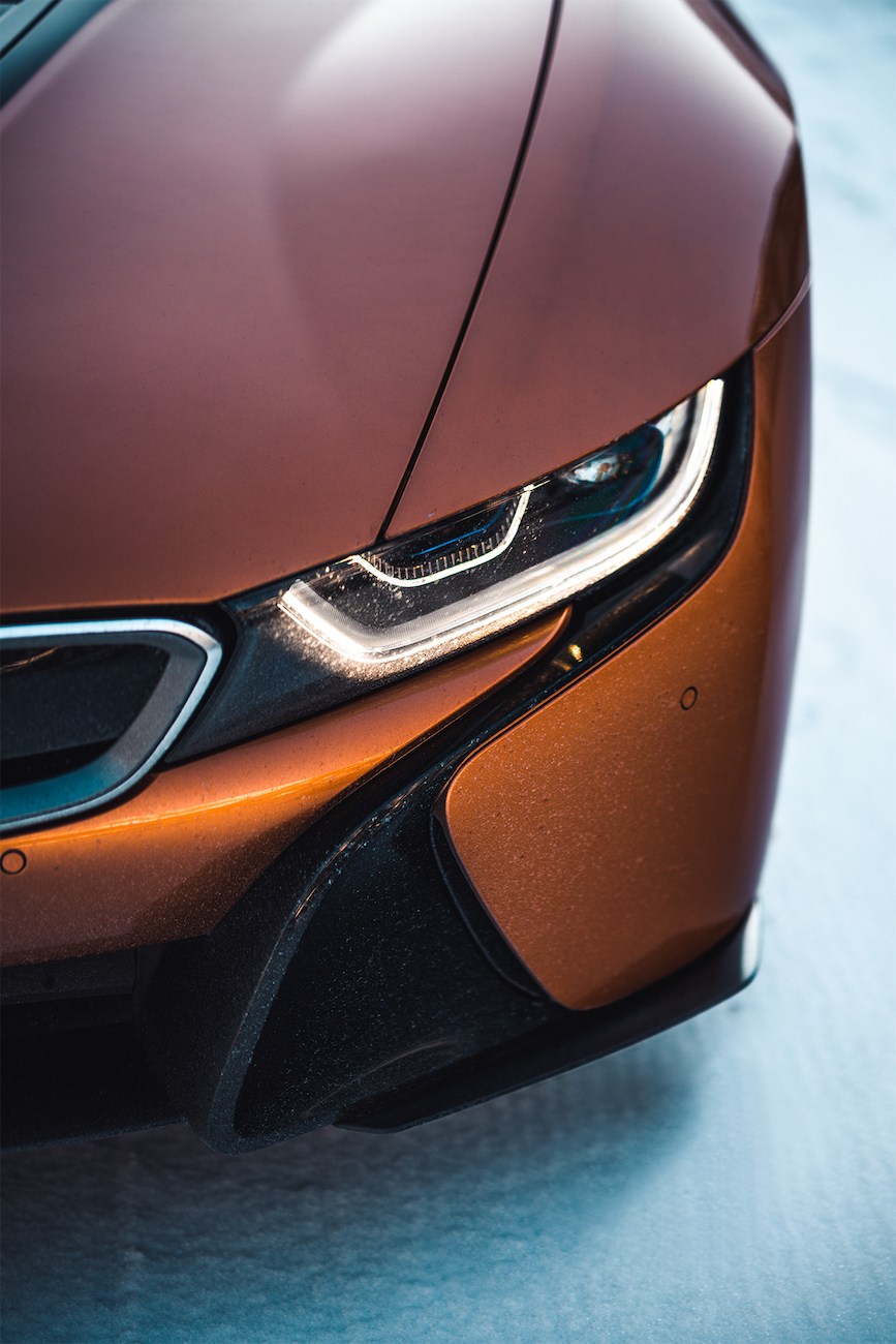 BMW i8 XMAS Shoot leManoosh industrial design blog and online courses