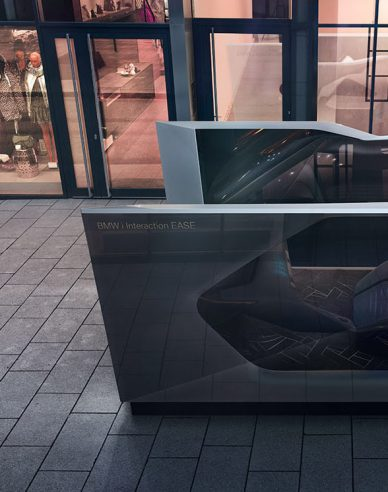 BMWi Interaction EASE Concept CES 2020