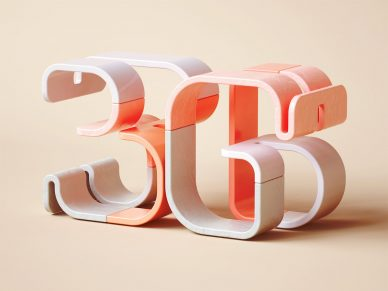 36 Days of Type 2019 BÜRO UFHO