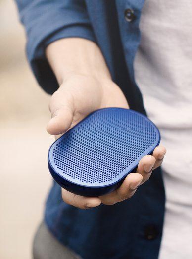 Beoplay P2 blue speaker
