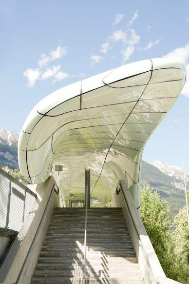 Birgit Schlosser Hungerburgbahn by Zaha Hadid