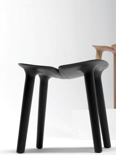 black Bouroullec Osso Stool