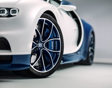 Bugatti Chiron Studio Shoot for Digital Campaign GF Williams