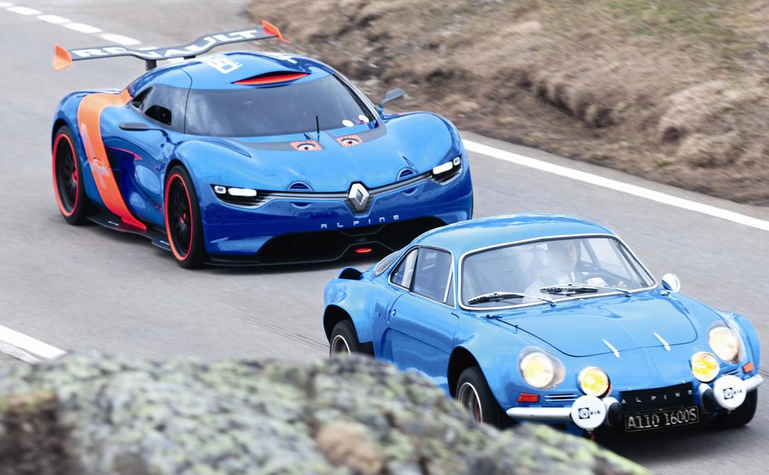 Concept Renault Alpine A110