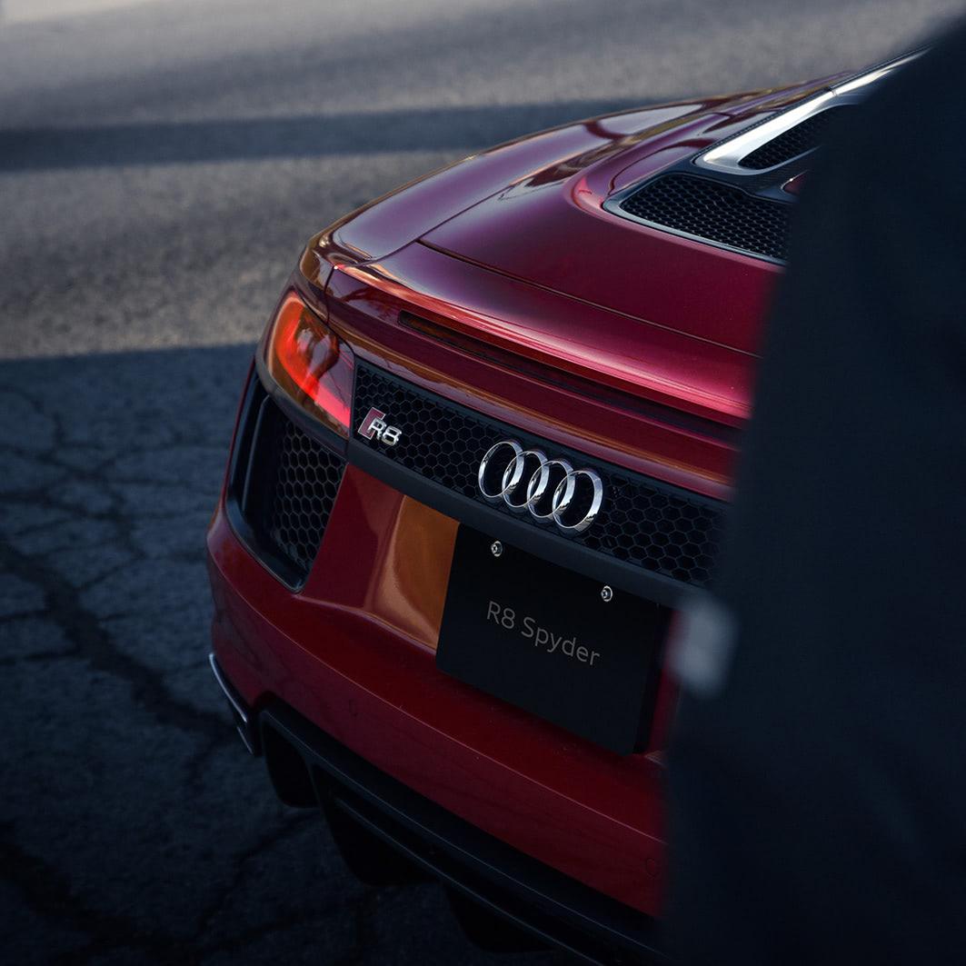 Damian Plisko Audi R8 Spyder