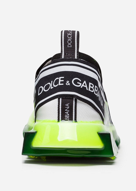 Dolce Gabbana sorrento sneakers in stretch knit