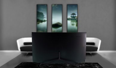 image of samsung TV concept