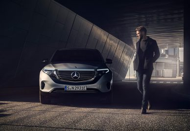 EQC 400 Mercedes Benz The Klubhouse Collective leManoosh Industrial design Blog