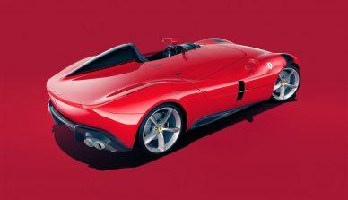 Ferrari Monza Sp1 Rendering leManoosh Industrial design Blog