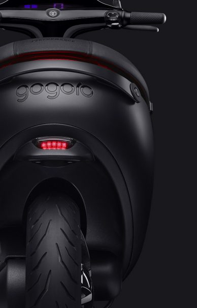 Gogoro scooter electric