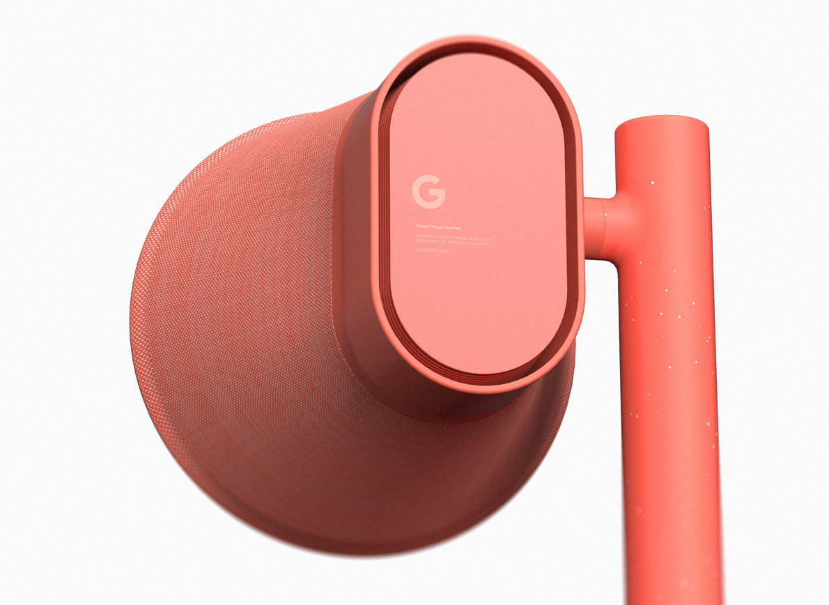 Google visual assistant concept