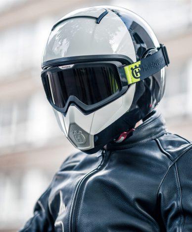 Helmet vitpilen svartpilen