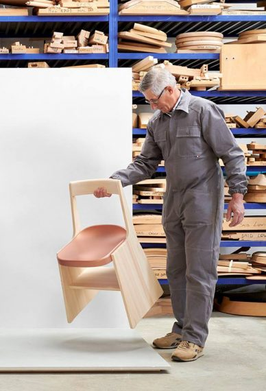 Industrial facility FRONDA chair