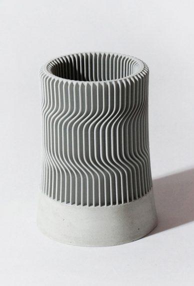 gray Kindof Vase design