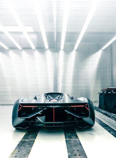 Lamborghini Terzo Millennio back shot