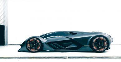 Lamborghini Terzo Millennio side shot
