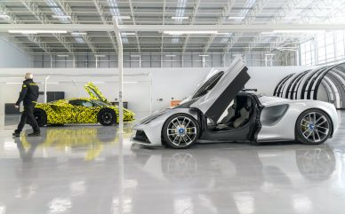Lotus Evija PRODUCTION comes alive