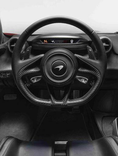 interior McLaren Senna 2019