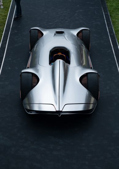 Mercedes Benz Vision EQ Silver Arrow