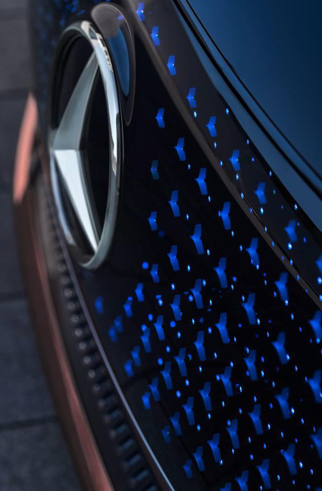 Mercedes Benz Vision EQS Concept 2019