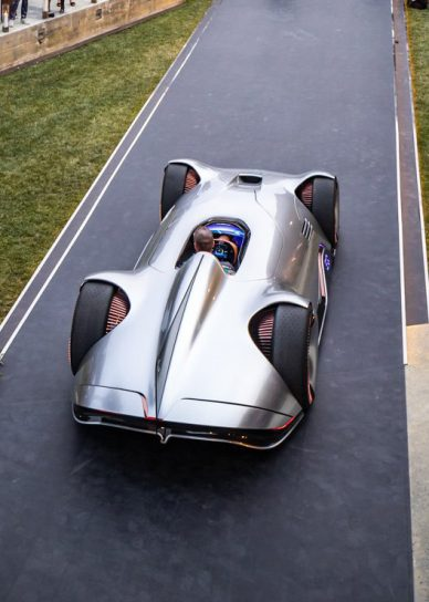 Mercedes EQ Silver Arrow Concept
