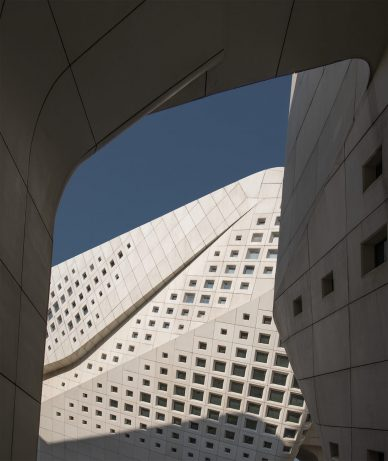 China Nanjing Youth Cultural Center by Zaha Hadid Architects