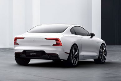 New Volvo Polestar concept light