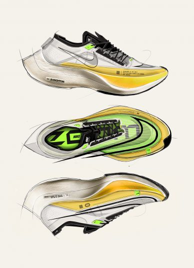 Nike Vaporfly NEXT% 2 by Charles Han leManoosh industrial design blog and online courses