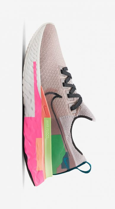Nike React Infinity Run Flyknit Premium leManoosh Industrial design Blog