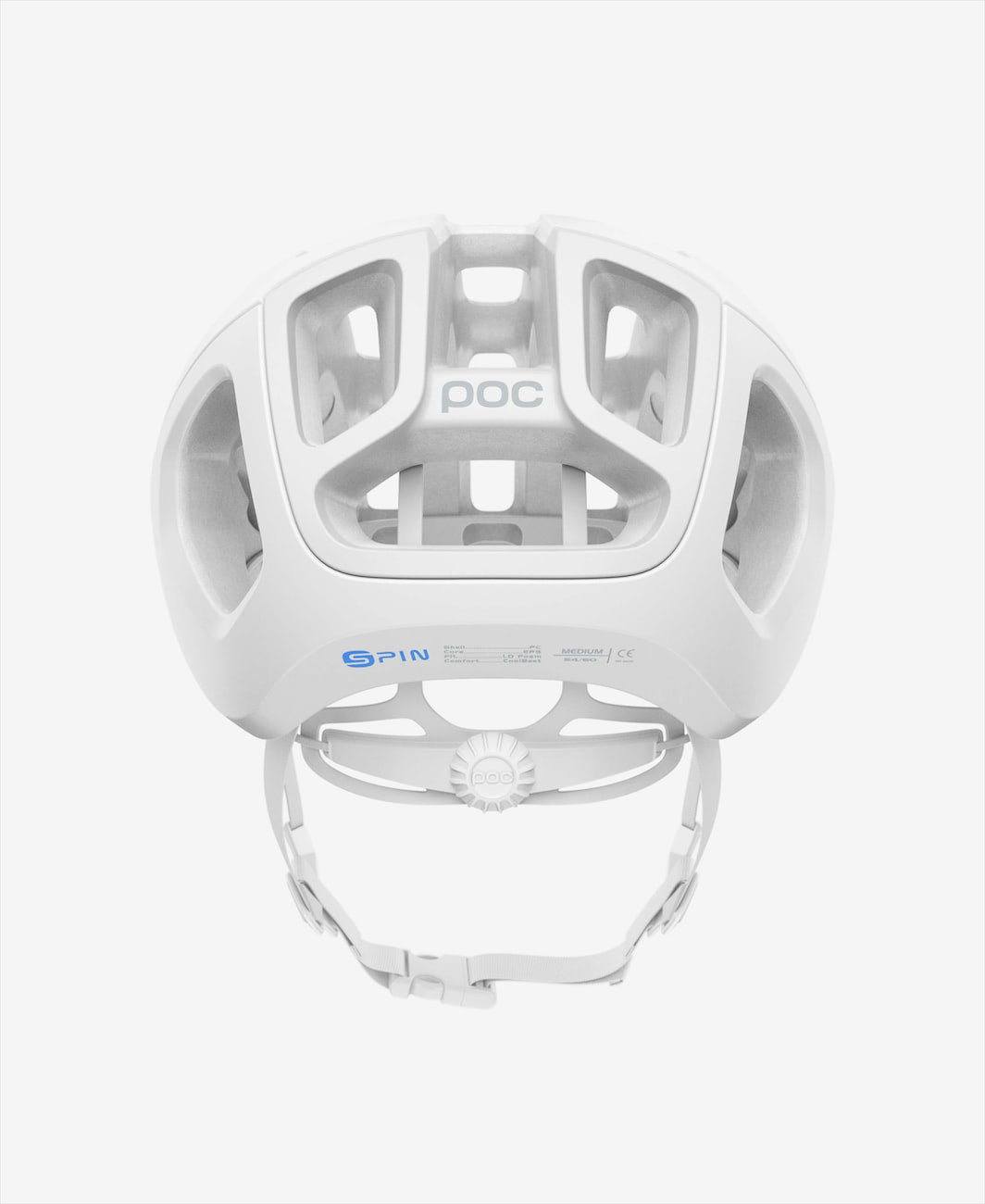POC Helmet Ventral Air Hydrogen White Matt