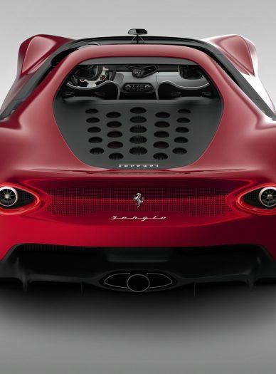 Pininfarina Ferrari sergio concept Engine Vent 2013