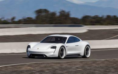 Porsche Taycan Mission E 2
