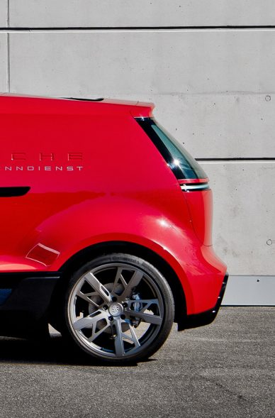 Porsche concept electric van leManoosh Industrial design Blog