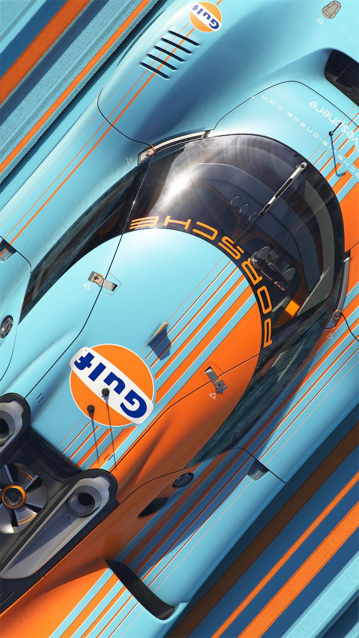 Porsche Vision 908 Gulf Edition leManoosh industrial design blog and online courses