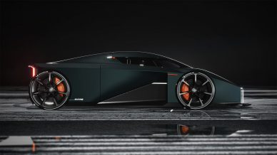 RAW by Koenigsegg Thesis Project by Esa Mustonen
