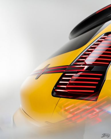 Renault R5 Concept Car, Studio shoot Jpog leManoosh industrial design blog and online courses