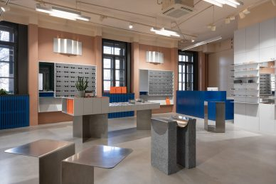 Retail P.Y.E Store New Holland design studio