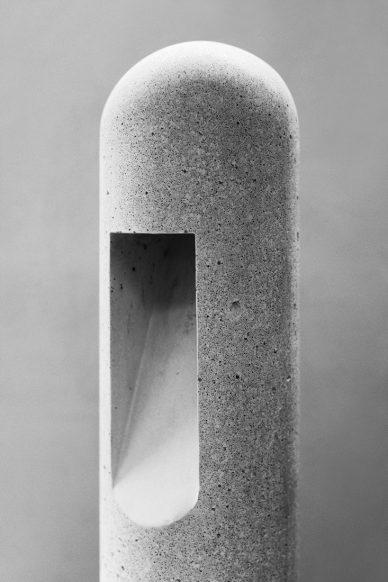 Rick Owens concrete lamp