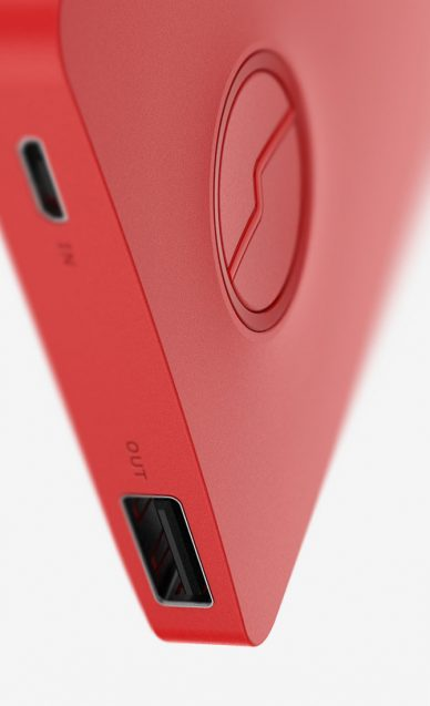 Ronsben Huen red battery