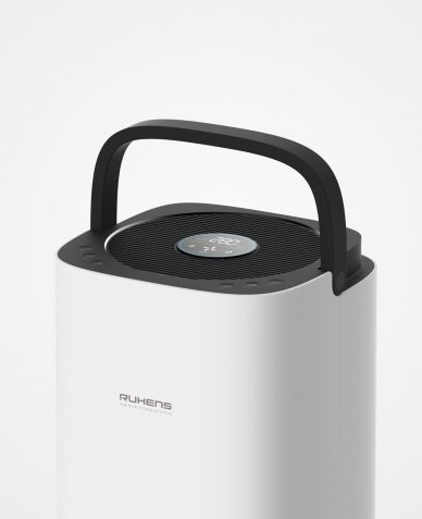 white ruthens portable speaker
