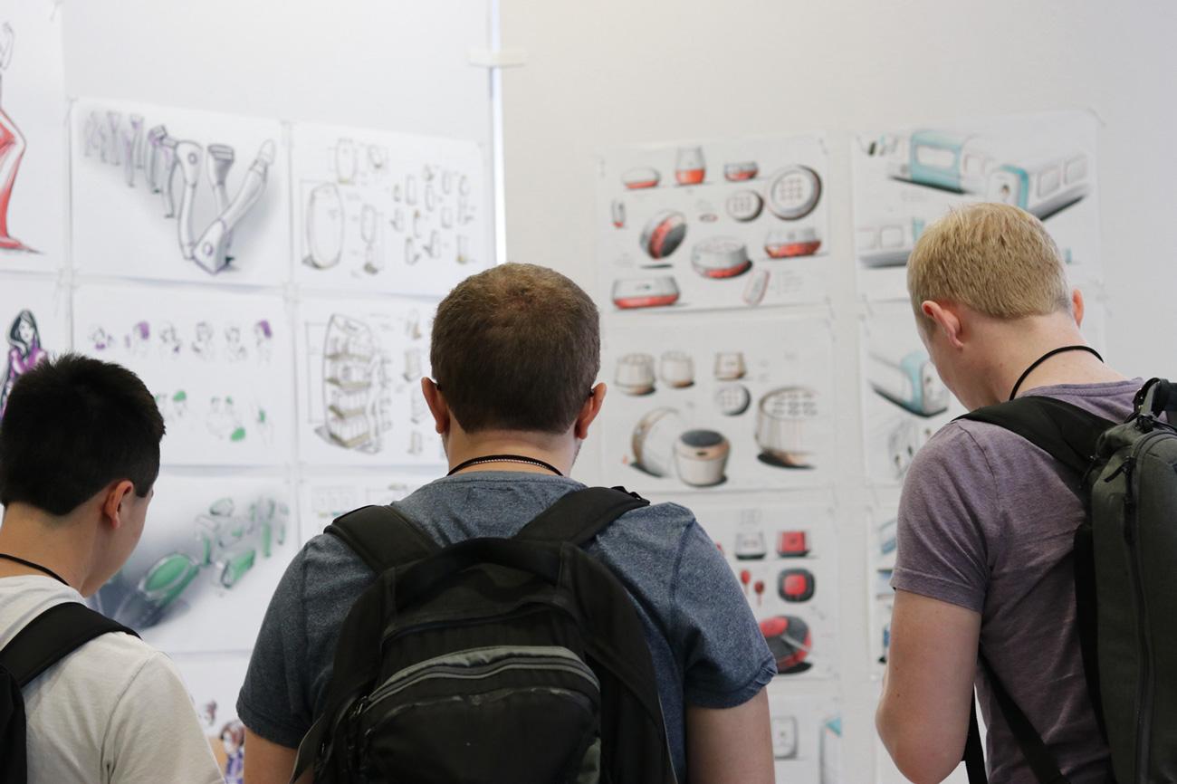 SQ1 CON leManoosh Sketching Conference Industrial Design