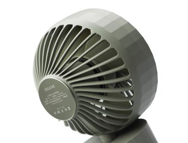 Second White portable fan